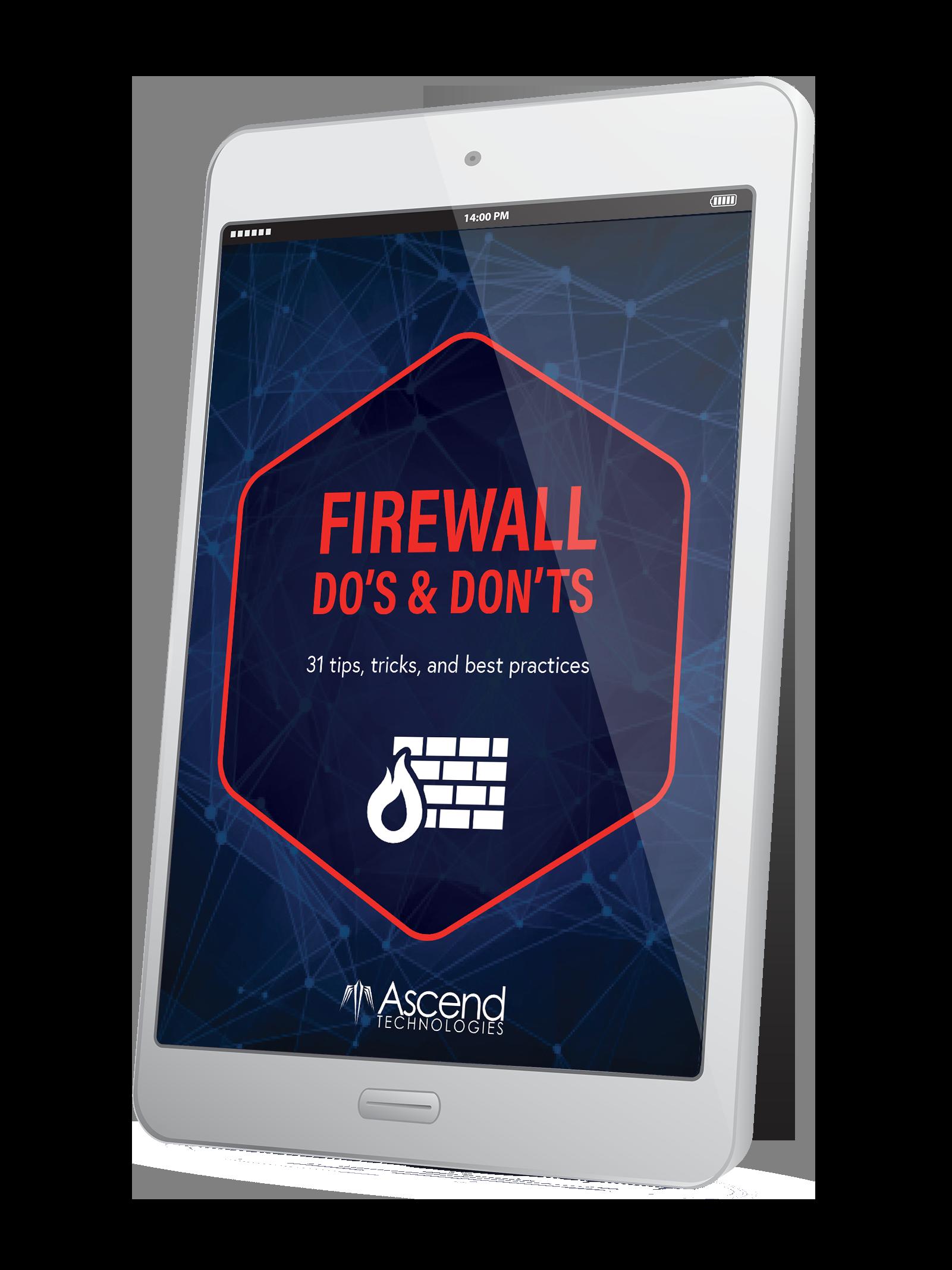 Firewall Do's & Don'ts