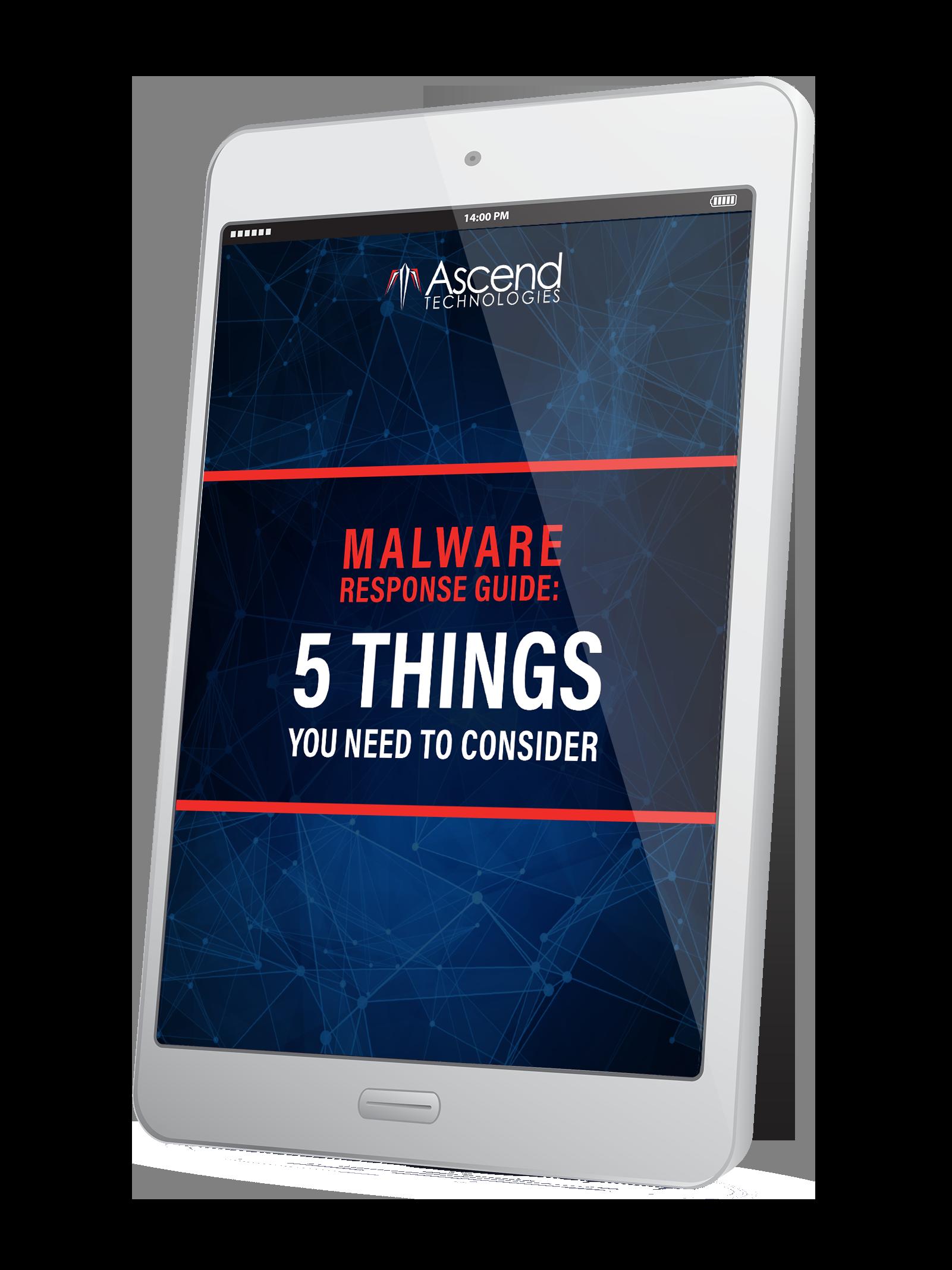 Malware-Response-eBook-Tablet